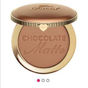 Too faced matte chocolate soleil bronzer